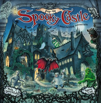 Book cover for Pop-Up Spooky Castle